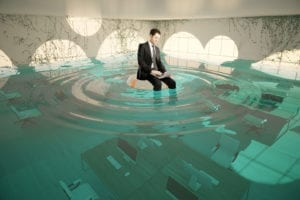 water damage business insurance claim